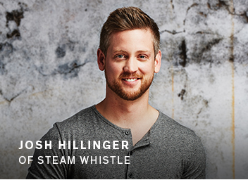 Josh Hillinger of Steam Whistle