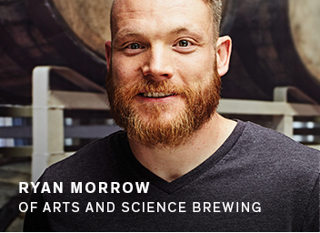Ryan Morrow of Arts and Science Brewing