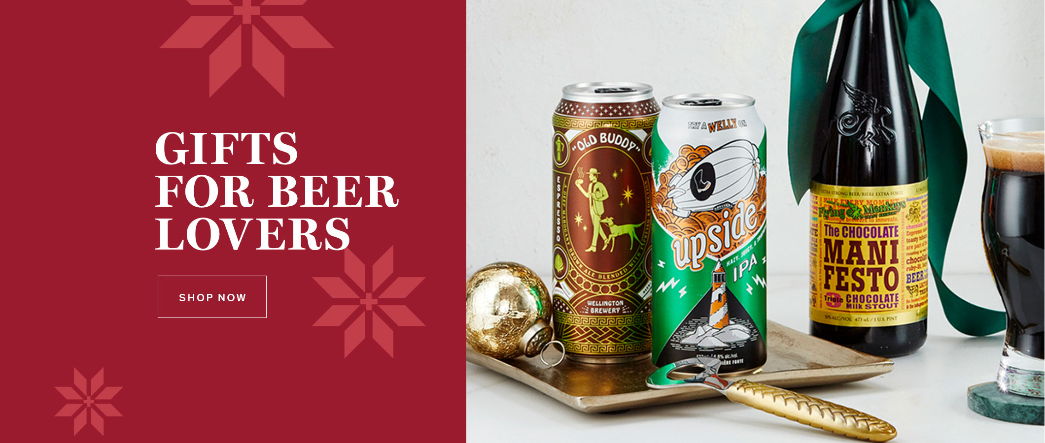 Gifts for Beer Lovers.  SHOP NOW