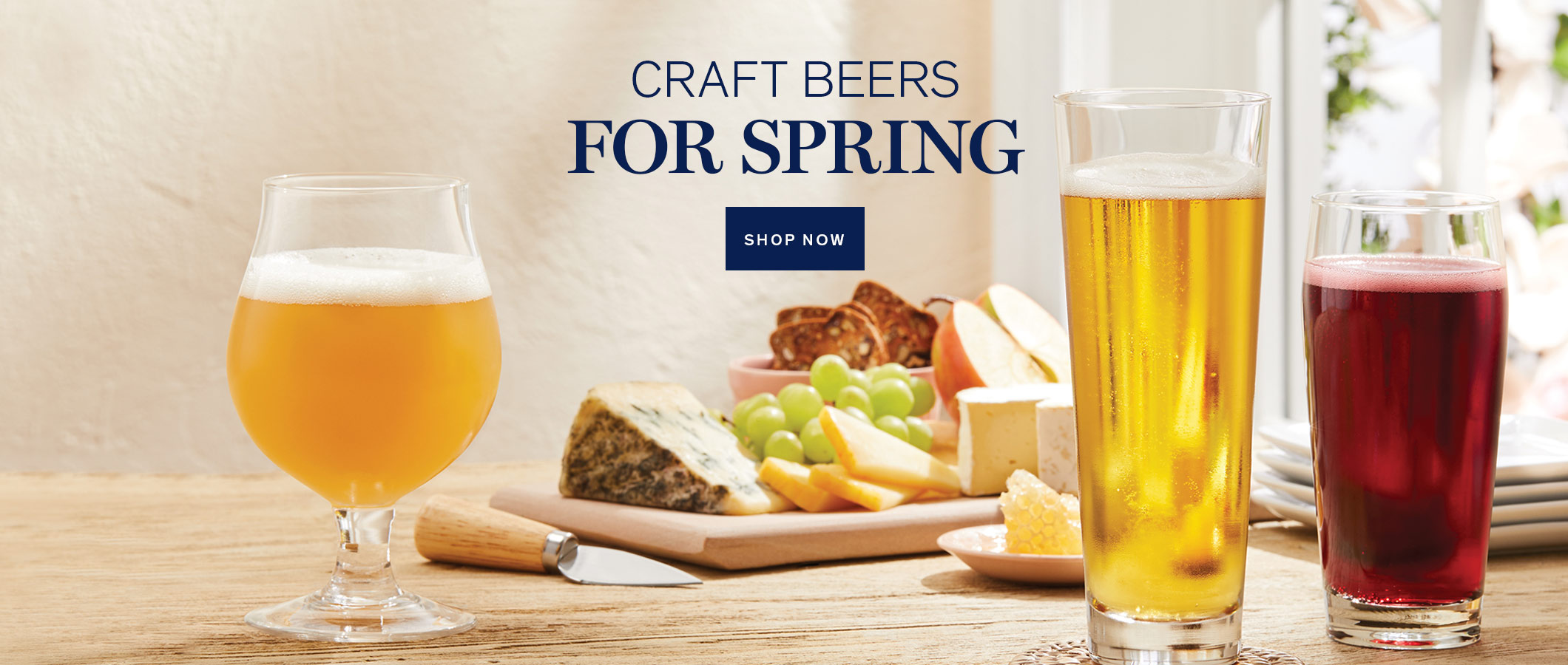 Craft Beers for Spring