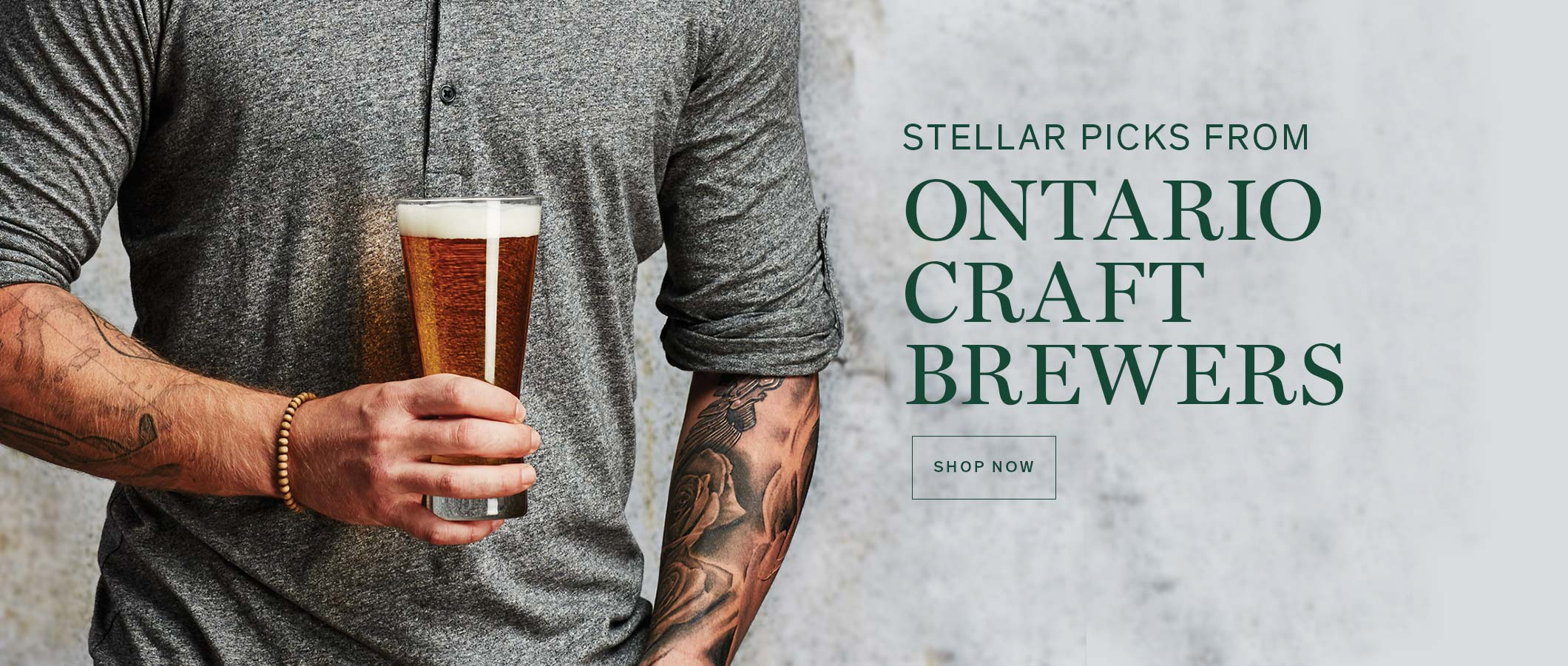 STELLAR PICKS FROM ONTARIO CRAFT BREWERS. SHOP NOW.