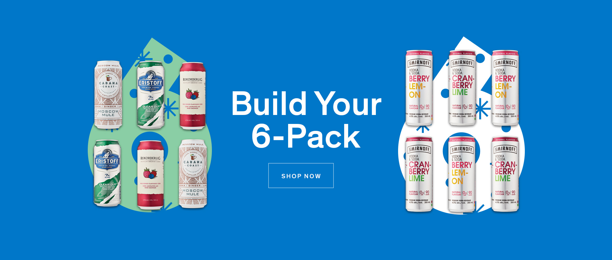 Build Your Holiday 6-Pack. SHOP NOW