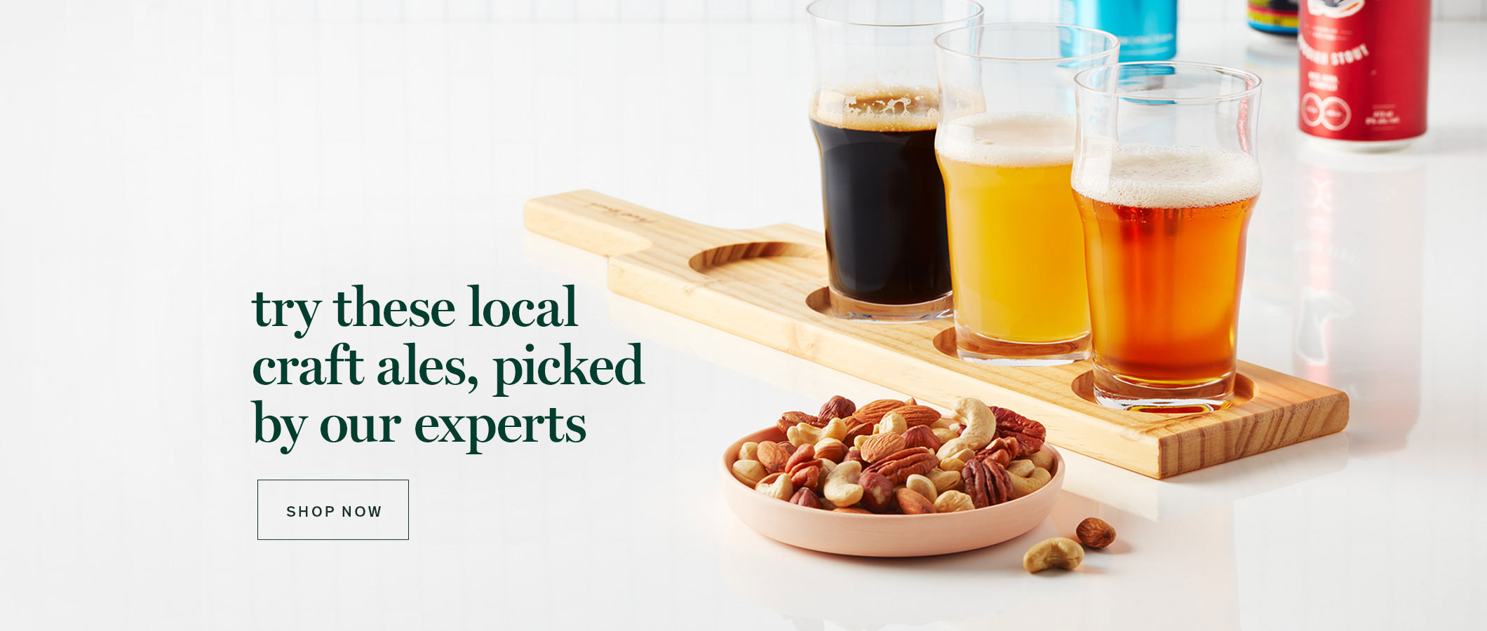 try these local craft ales, picked by our expert.  SHOP NOW