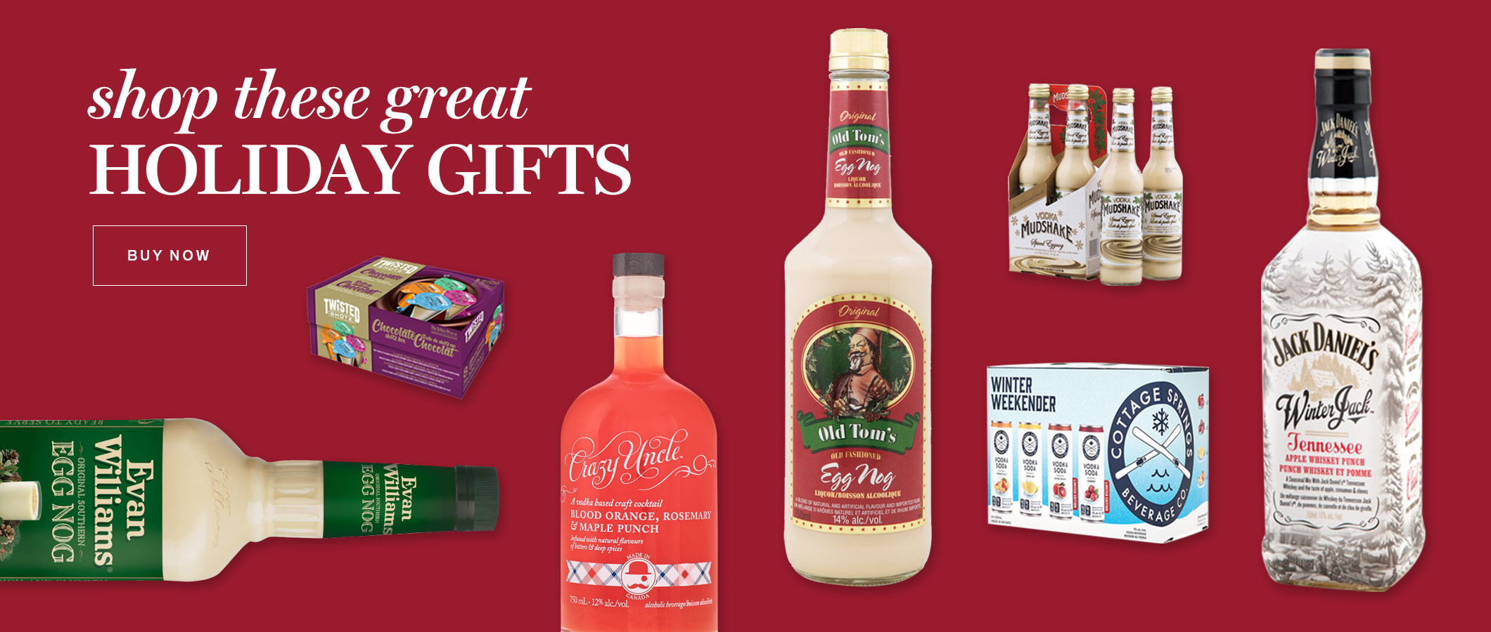 shop these great HOLIDAY GIFTS