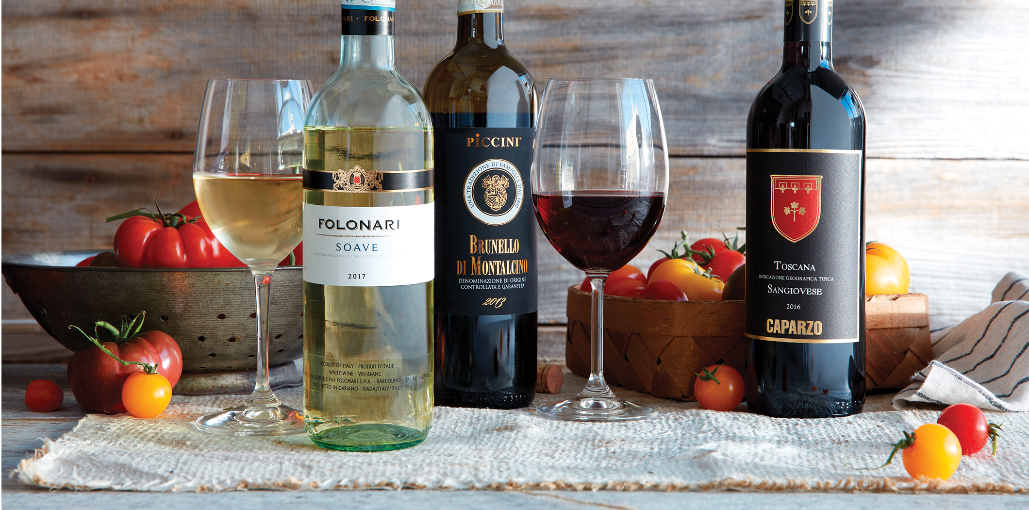 The Basic Rules for Pairing Wine with Tomatoes