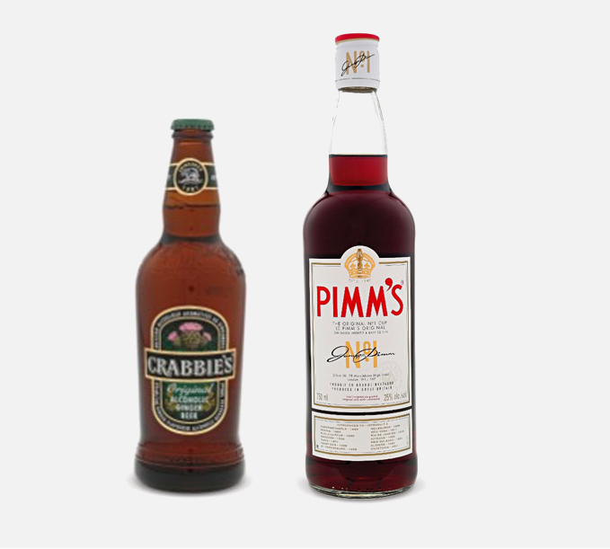 Ginger Beer & Pimm's