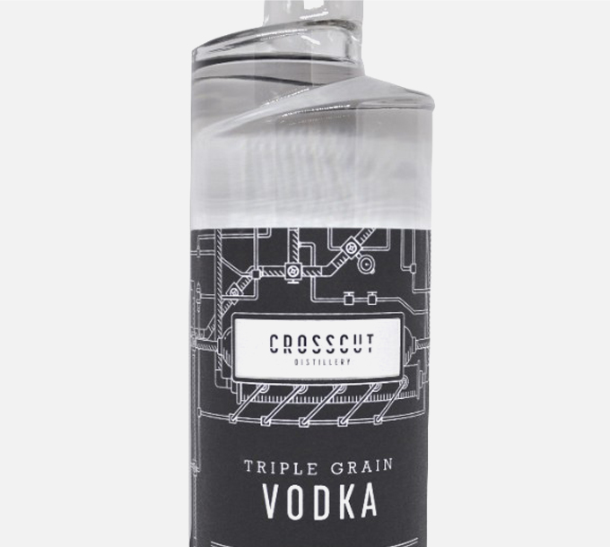 Vodka Crosscut Distillery Triple Grain