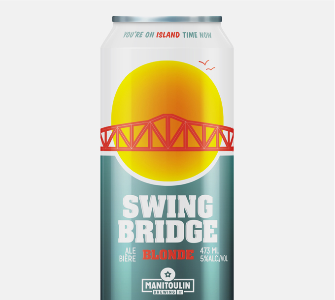 Manitoulin Brewing Swing Bridge Blonde Ale