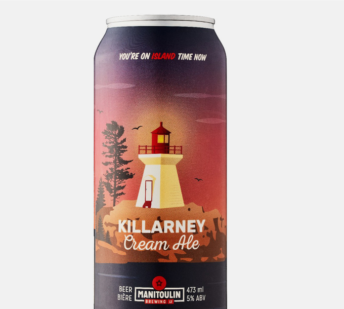 Manitoulin Brewing Killarney Cream Ale