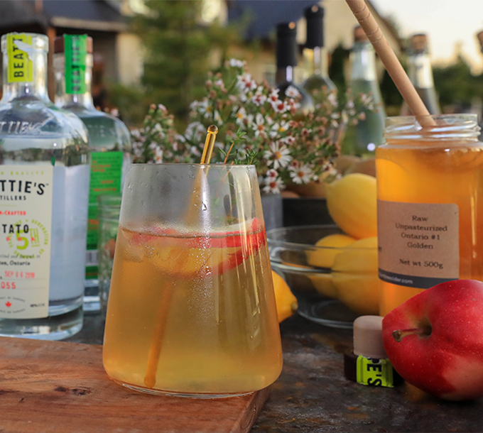 Honeyed Apple Cider Delight