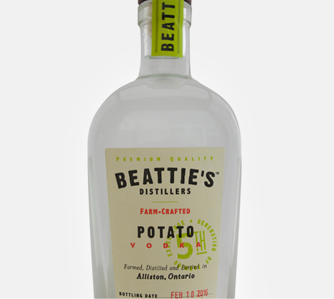 Beattie's Distillers Farm-Crafted Potato Vodka