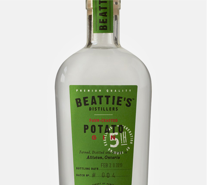 Beattie's Farm Crafted Potato Gin