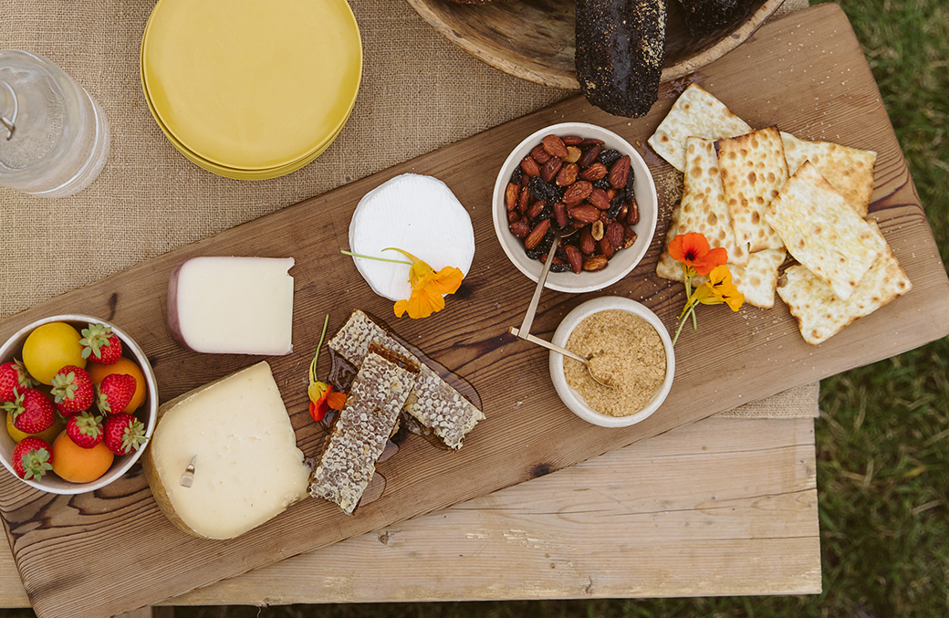 A Sweet-Style Cheeseboard