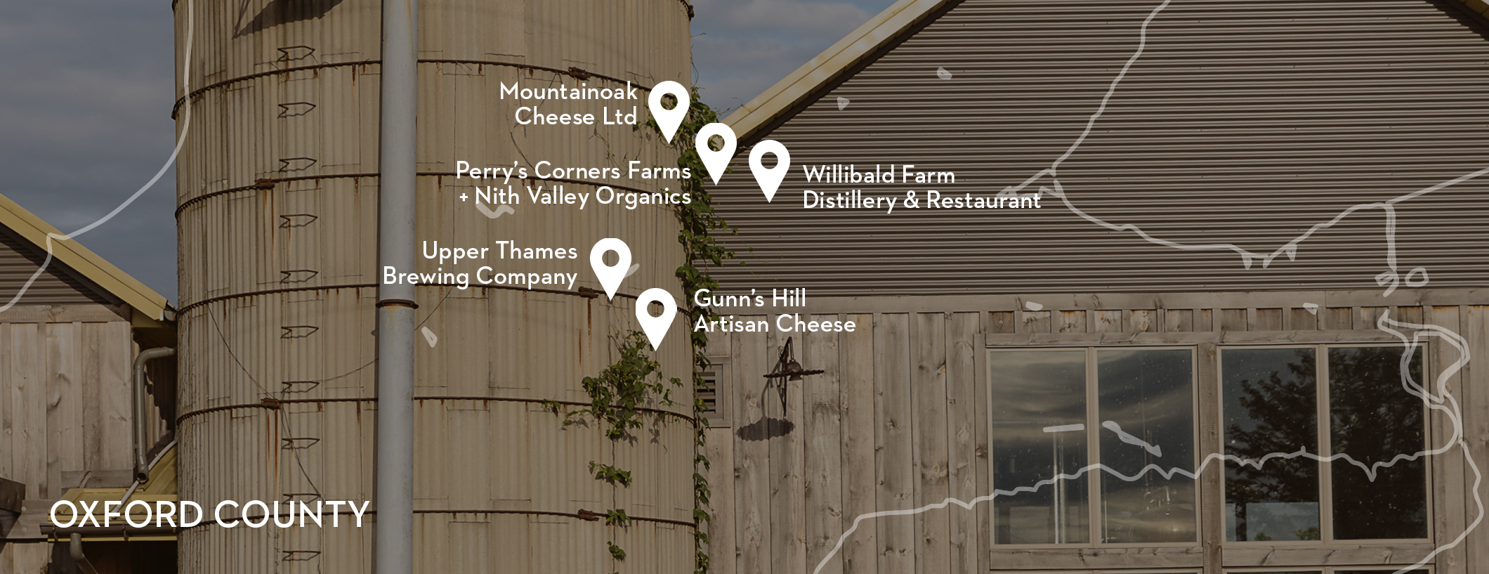Oxford County - Discover the 5 Stops