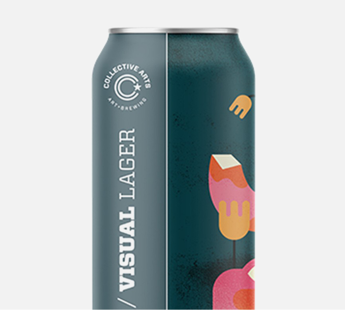 Collective Arts Audio/Visual Lager