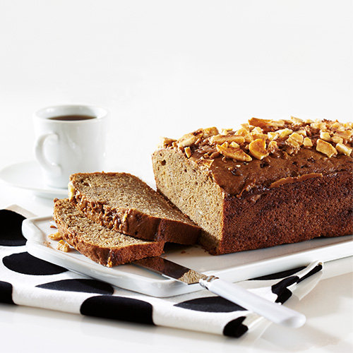 Coffee Toffee Banana Bread