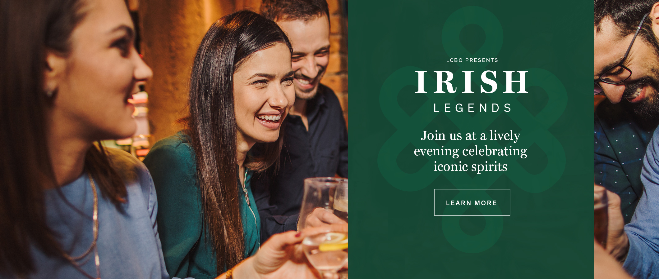 Irish Legends.  Join us at a lively evening celebrating iconic spirits.  READ MORE