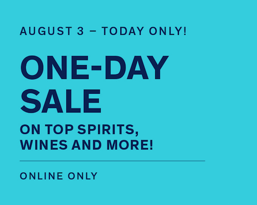 One-Day Sale. Today Only!