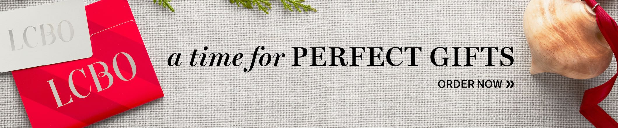a time for PERFECT GIFTS