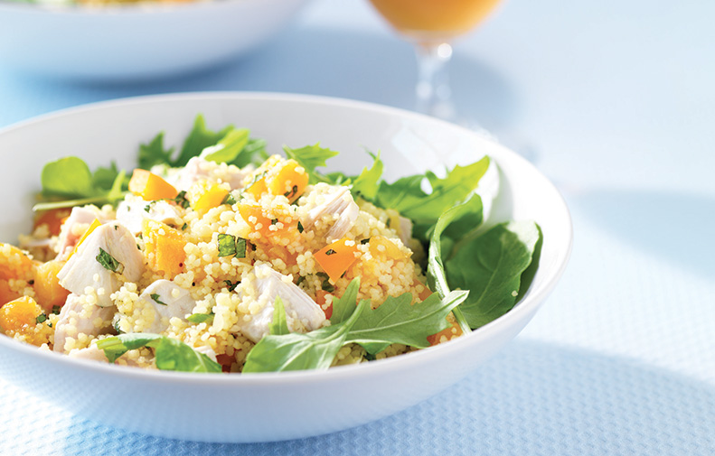 Orange-Infused Chicken Couscous Salad