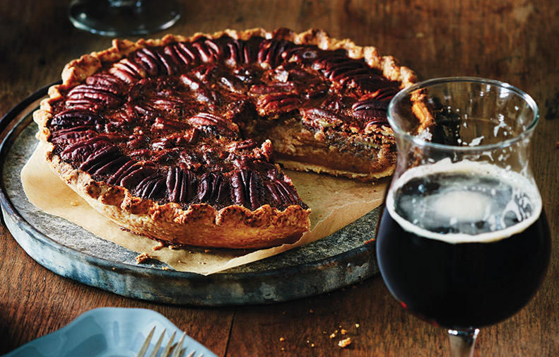 Chai-Spiced Pecan Pie