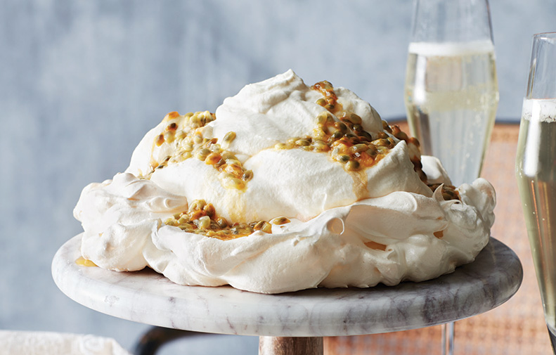 Grand Passion Fruit Pavlova
