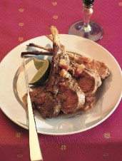 Tandoori Rack of Lamb