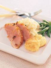 Rosemary Crumb-Baked Ham with Calvados