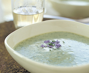 Leek and Watercress Soup