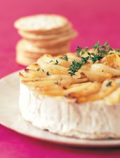 Brie with Roasted Pear and Thyme
