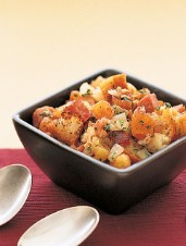 Apricot and Black Forest Ham Stuffing