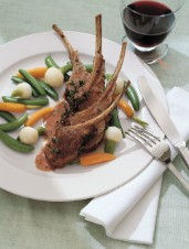 Hastings House Oven-Roasted Rack of Lamb
