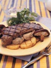 Australian Carpetbagger Steak