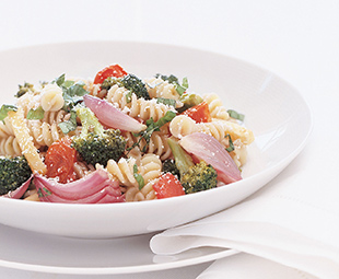 Rotini with Oven Roasted Vegetables
