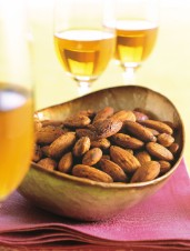 Rosemary-Tamari Roasted Almonds