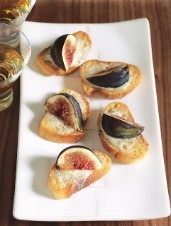 Fig and Gorgonzola Crostini