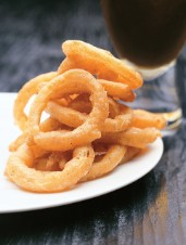 Spiced Beer Battered Onion Rings
