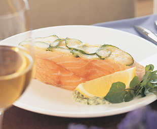 Classic Poached Salmon