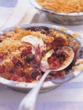 Individual Berry Brown Betty