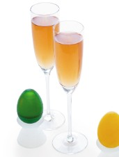 Bubbly Spring Cocktail