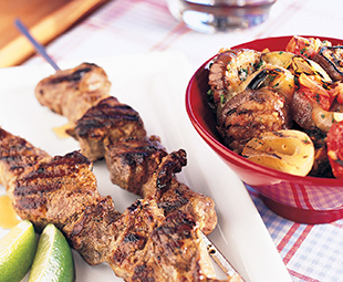 Indian Grilled Lamb Kebabs