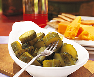 Quick Nine-Day Pickles