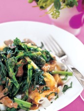 Beef and Rapini Stir-fry