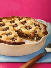 Apple and Pear Mincemeat Pie