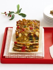 Stained Glass Christmas Cake