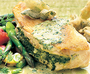 Chicken Breasts with Herb Stuffing