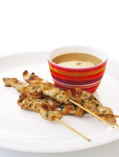 Green Curry Chicken Satay