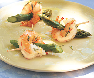 Shrimp and Asparagus Nibbles