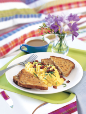 Super-Soft Scrambled Eggs with Crispy Pancetta