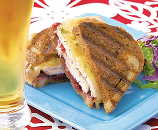 Turkey Rueben Sandwich